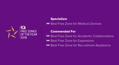 International Publication Award to Coyol Free Zone