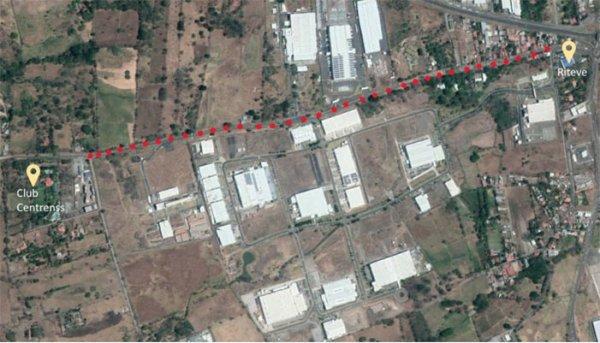 Recarpeteo Calle Llanos-Club Cetrenss para mejorar acceso a el Coyol